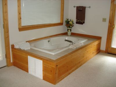 Jacuzzi Tub in bedroom