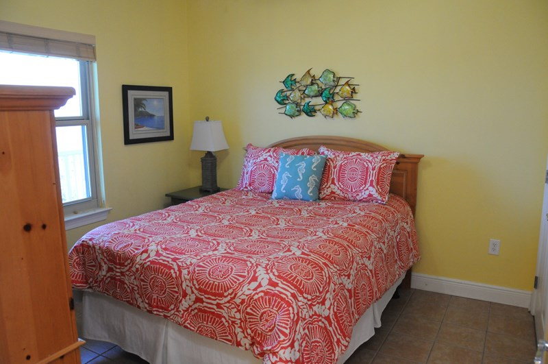 Guest Bedroom with Updated Queen Bed