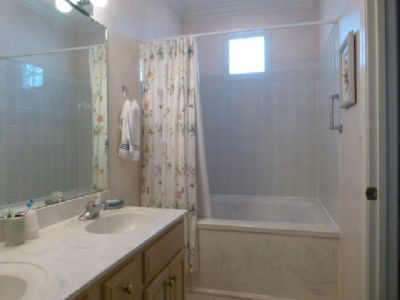 master bath with whirpool