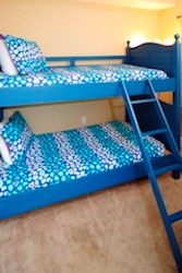 Comfy bunk beds for the kids.