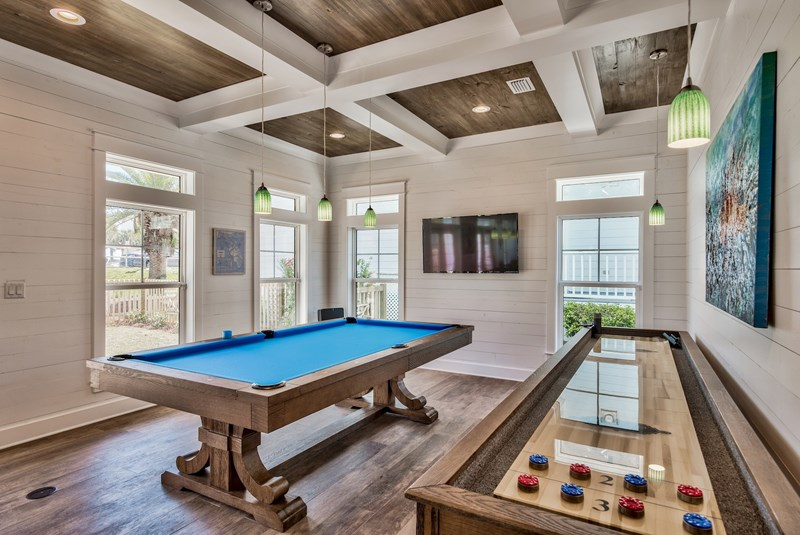 Pool table AND shuffleboard table