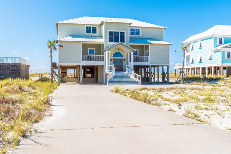 Crews Quarters Gulf Front Beach House Private Pool Wedding Friendly Ss Vacation Als