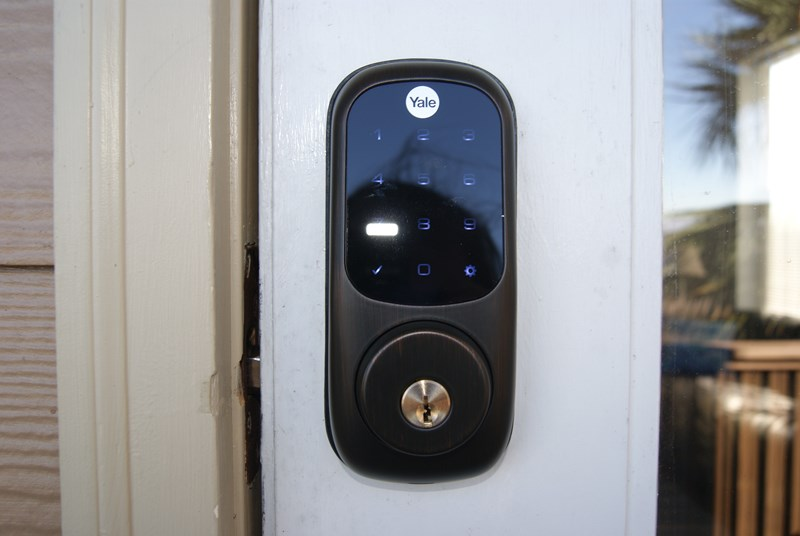 Smart lock ensures unique lock code