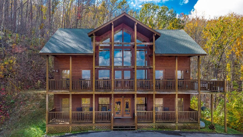 gatlinburg tn vacation cabin for rent by owner 5 bedrooms 5